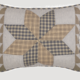 VHC Brands Dakota Star Farmhouse Blue Sham