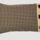"""VHC Brands Dakota Star Pillow Case - Set of 2    21"""" x 30"""""""
