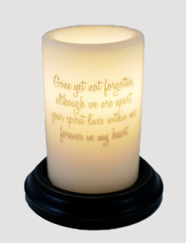C R Designs Not Forgotten Candle Sleeve