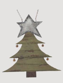 K & K Interiors Rustic Wood & Tin Christmas Tree Arrow Replacement
