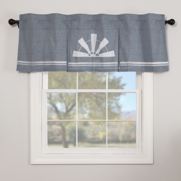 Sawyer Mill Blue Curtains