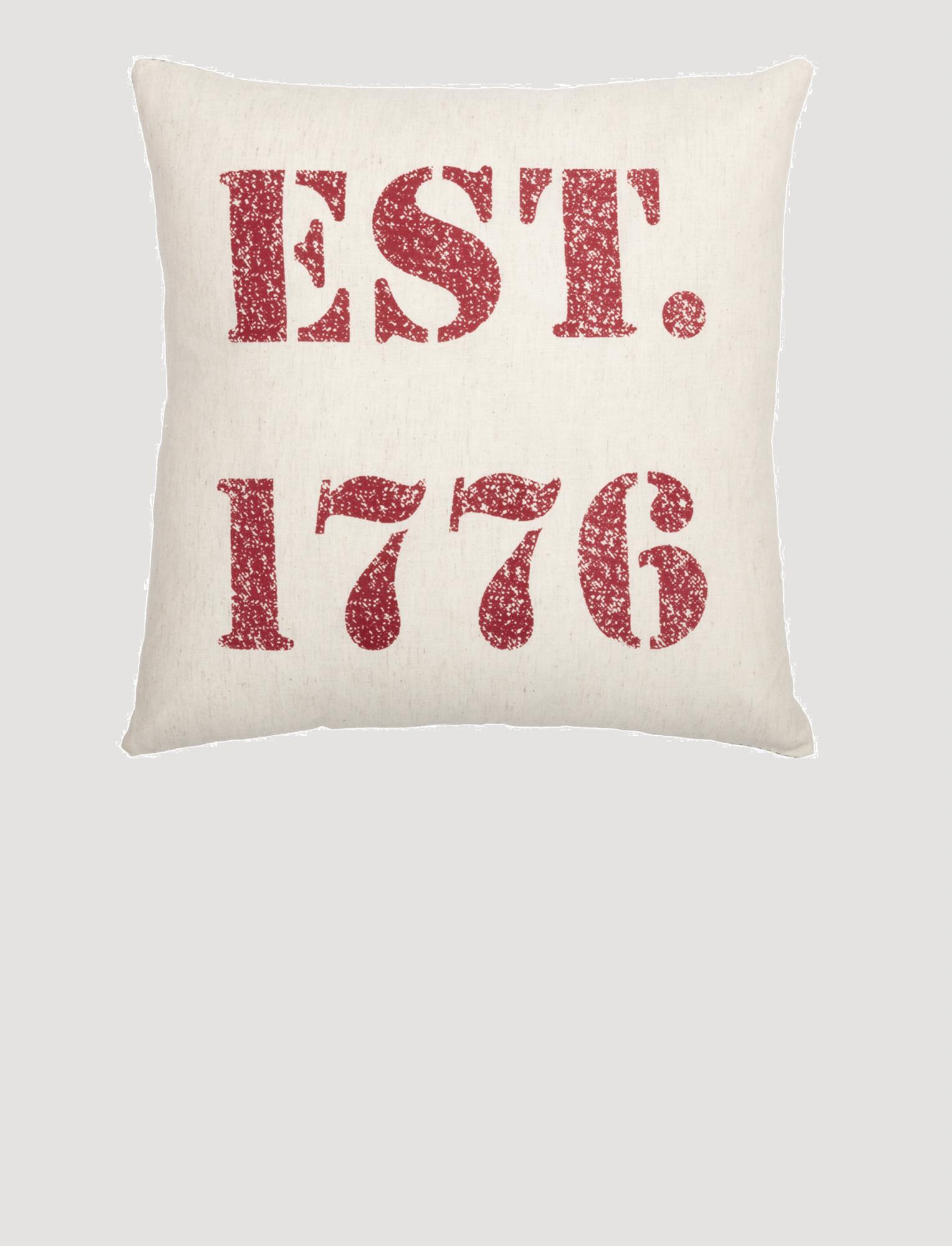 """VHC Brands Hatteras 1776 Pillow 18"""" x 18"""""""
