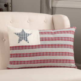 VHC Brands Hatteras Flag Pillow