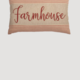 "VHC Brands Rory Schoolhouse Red Farmhouse Pillow 14"" x 22"""