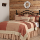 VHC Brands Rory Schoolhouse Red Bedding Collection