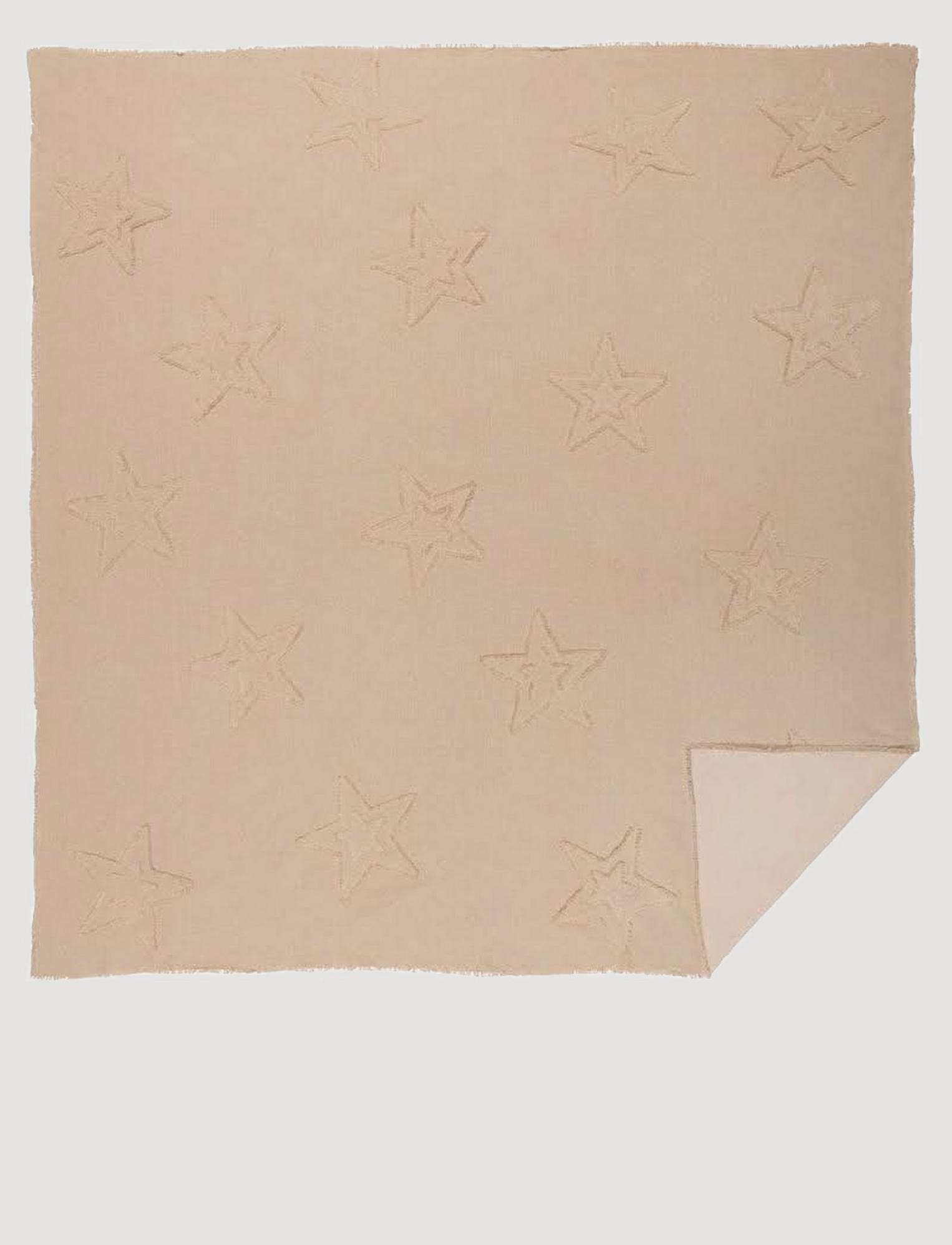 VHC Brands Burlap Vintage Star Coverlet