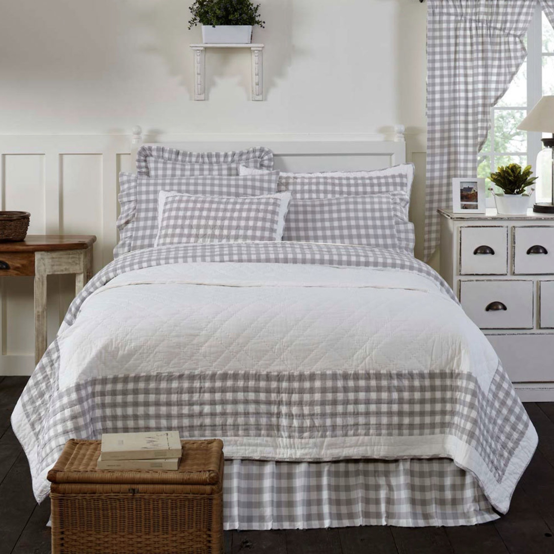 VHC Brands Annie Buffalo Check Quilt