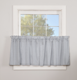 VHC Brands Sawyer Mill Blue Ticking Stripe Tier Set