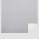 VHC Brands Sawyer Mill Blue Ticking Stripe Coverlet