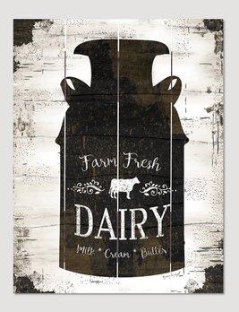 Nana's Farmhouse Farmhouse Milk Can Pallet Art Sign