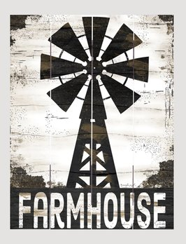 Nana's Farmhouse Farmhouse Windmill Pallet Art Sign