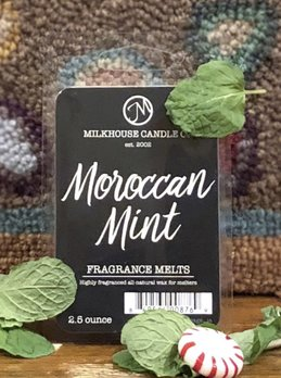 Milkhouse Candles Moroccan Mint 2.5oz Melt Milkhouse