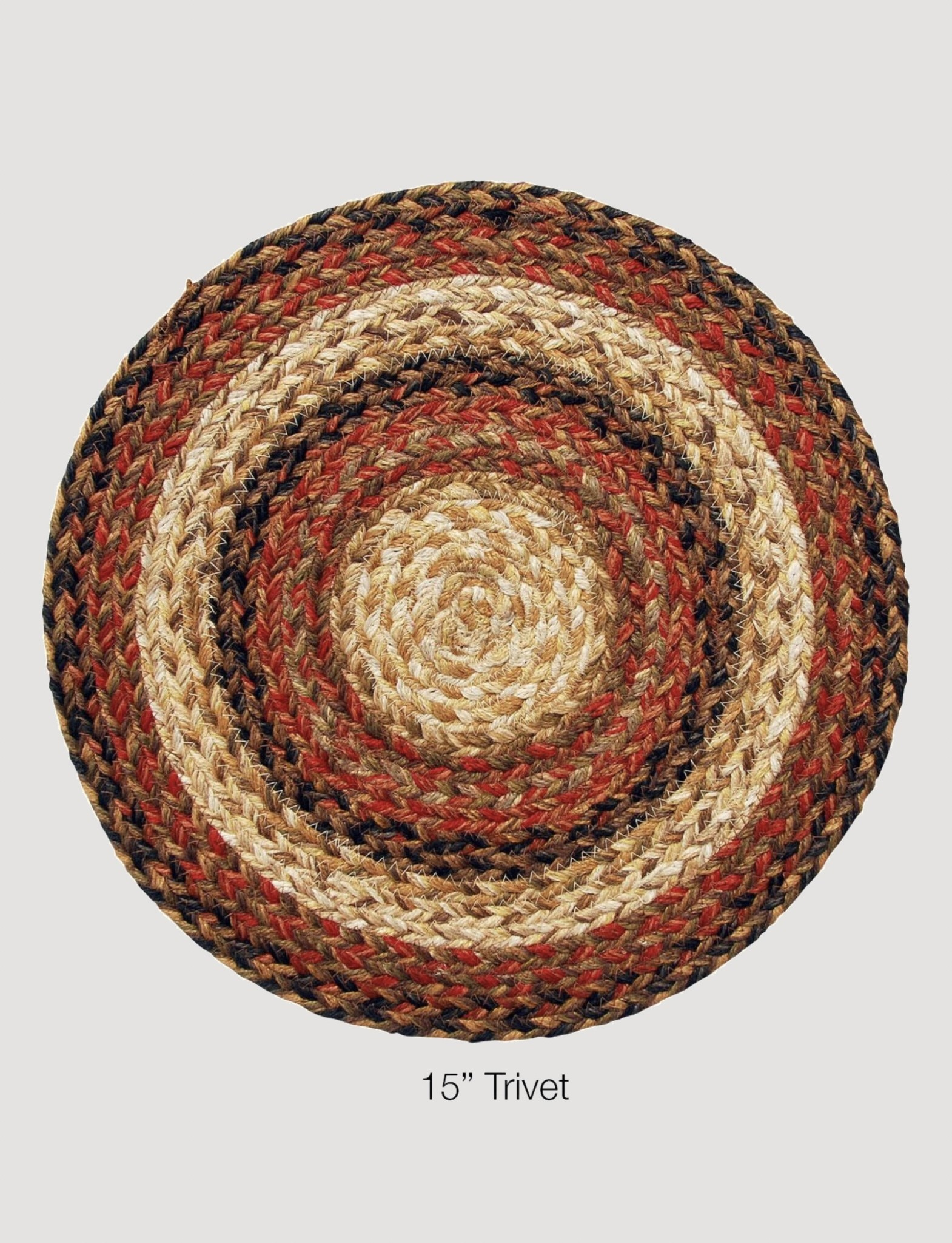 Homespice Decor Russett Jute Braided TableTop Accessories