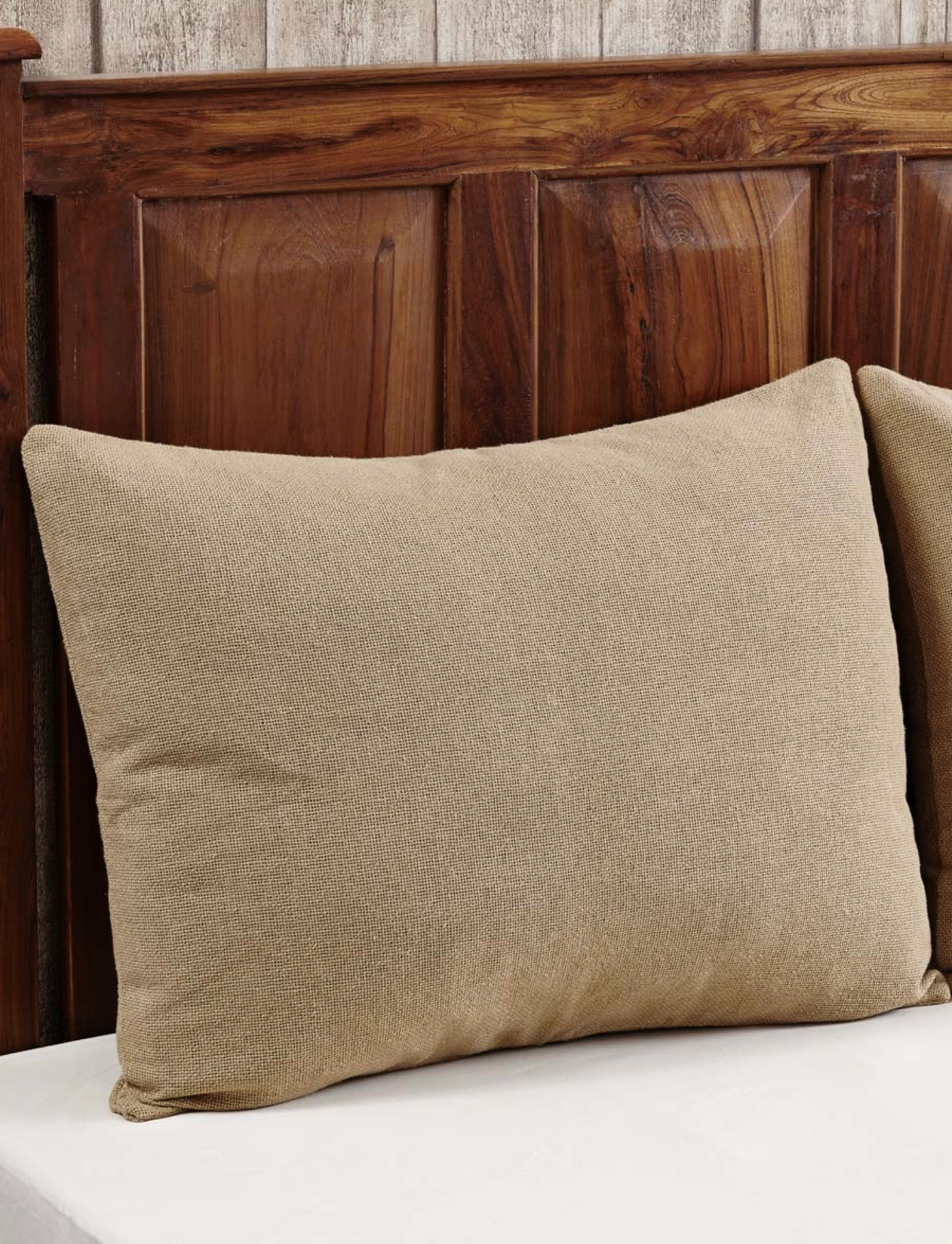 VHC Brands Burlap Natural Pillow Sham