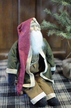 Arnett's Arnett's Santa Green Coat Sitting AC3