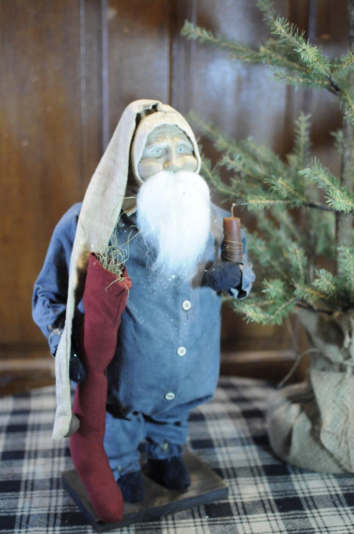 Arnett's Arnett's Santa In Blue Union Suit JPC6