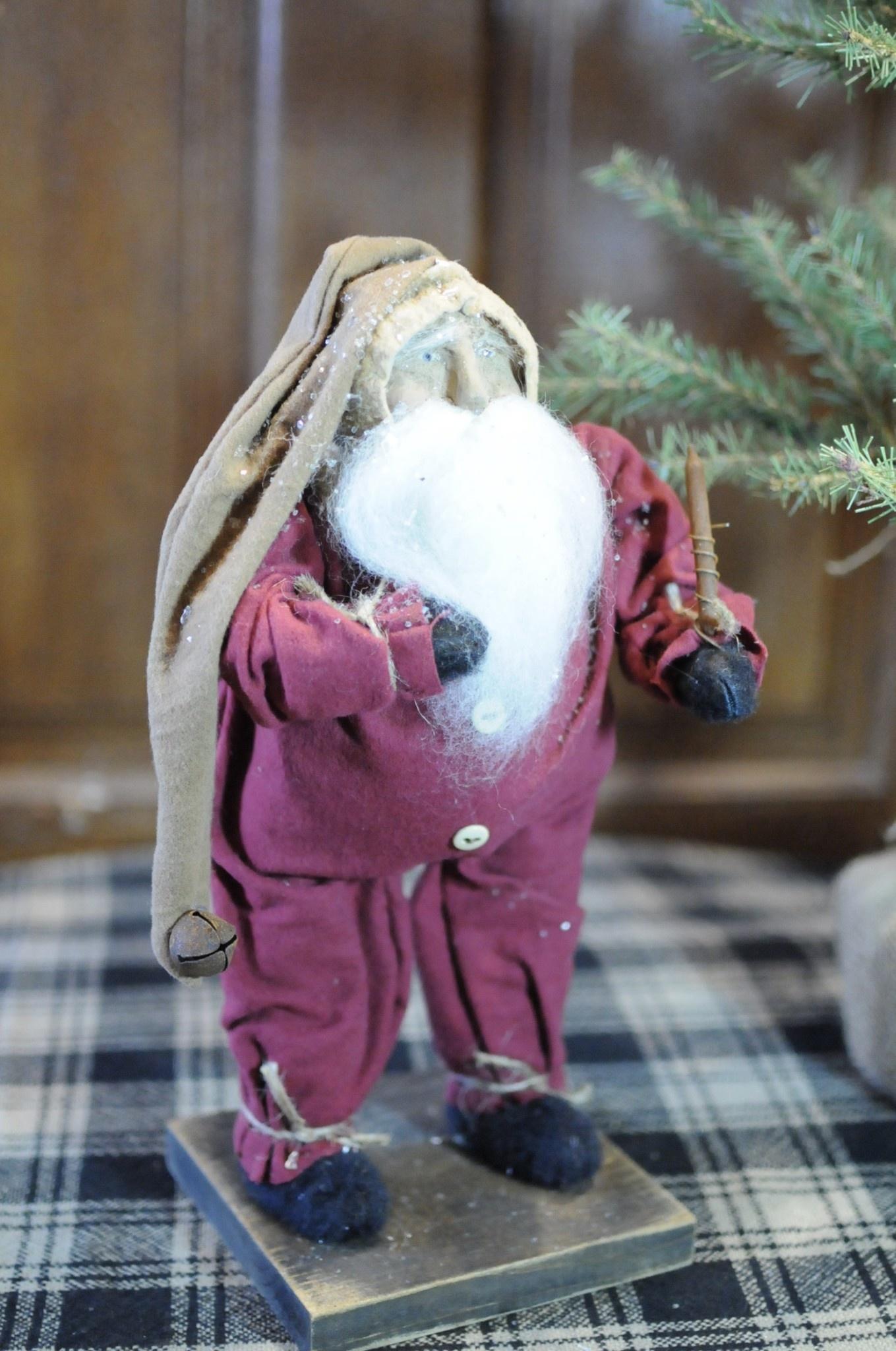 Arnett's Arnett's Santa Tiny Red Union Suit AC8