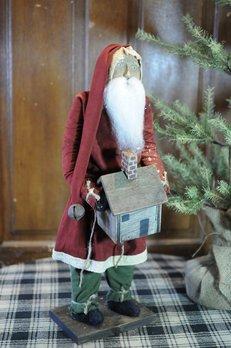 Arnett's Arnett's Santa Slim Red Coat Holding House TYC1