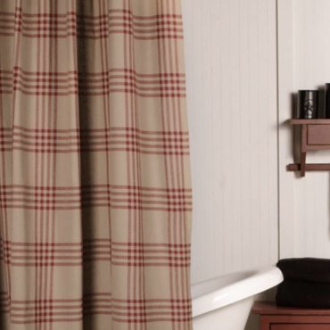 Chesterfield Check Curtains