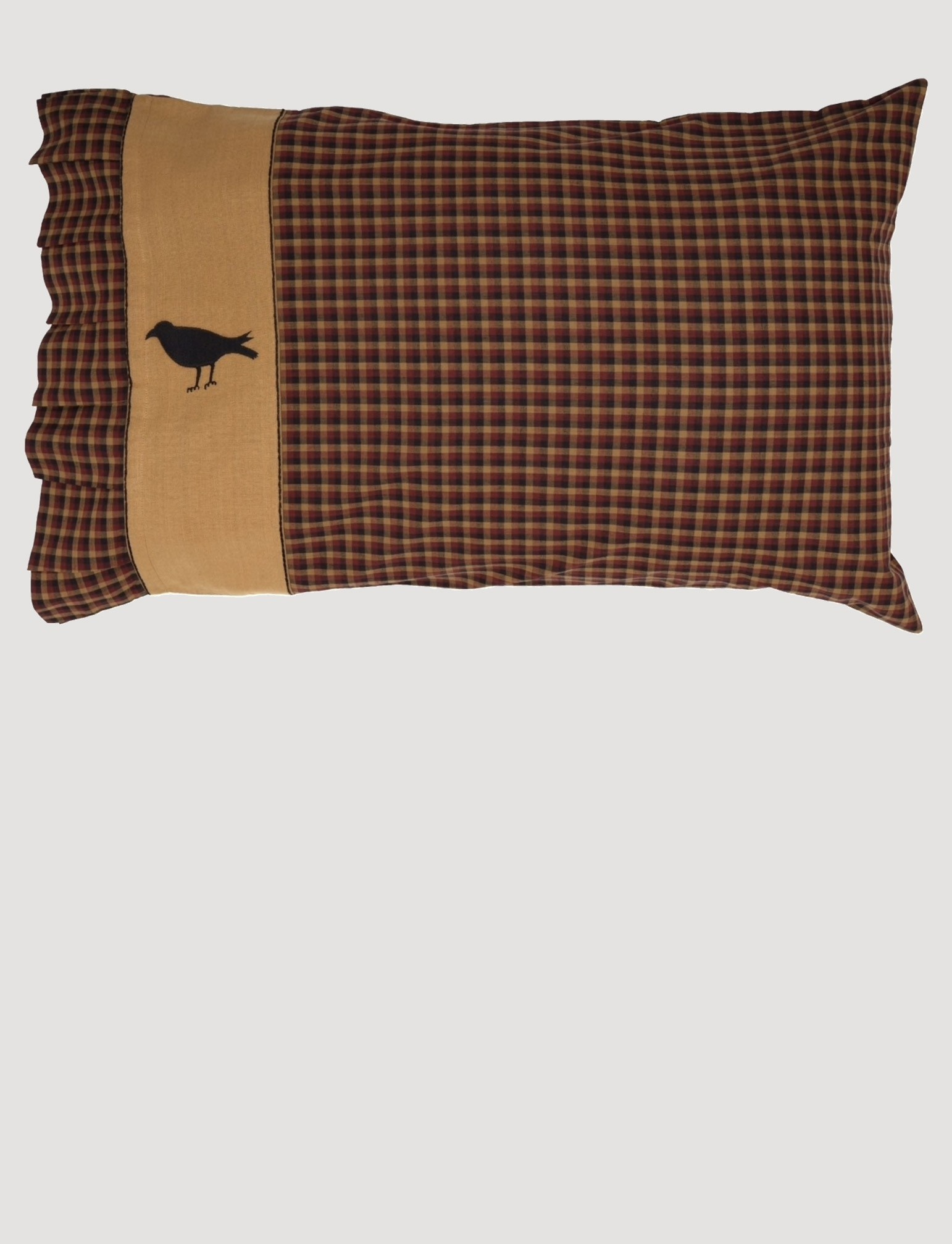 VHC Brands Heritage Farms Crow Pillow Case Set