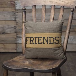 VHC Brands Heritage Farms Friends Pillow