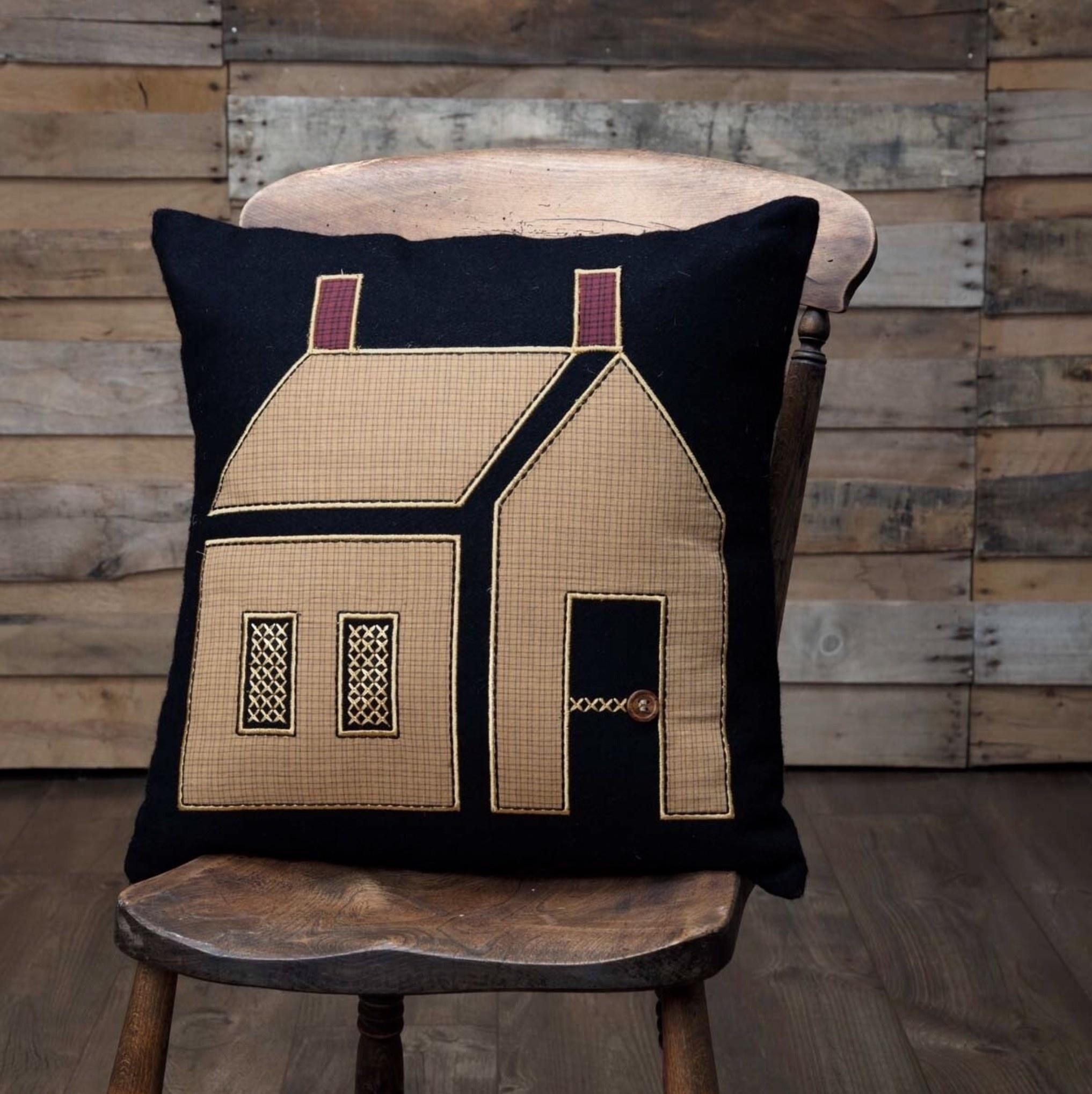 VHC Brands Heritage Farms Primitive House Pillow