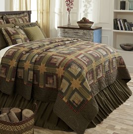 VHC Brands Tea Cabin Quilt