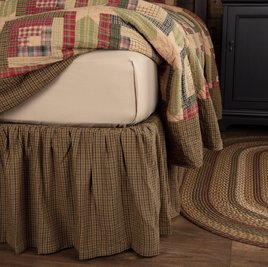 VHC Brands Tea Cabin Bed Skirt