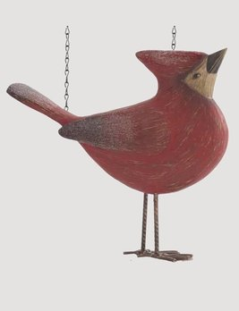 K & K Interiors Resin Cardinal with Head Up Arrow Replacement
