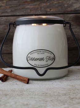 Milkhouse Candles Cinnamon Stick 16oz Butter Jar
