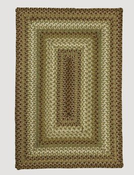 Homespice Decor Winter Wheat Ultra Wool Recycled Rug