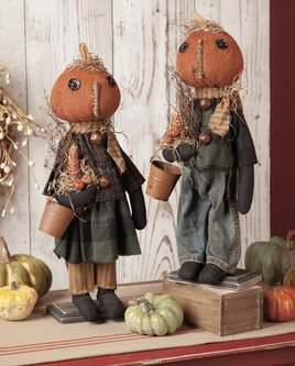 Nana's Farmhouse Autumn The Pumpkin Girl