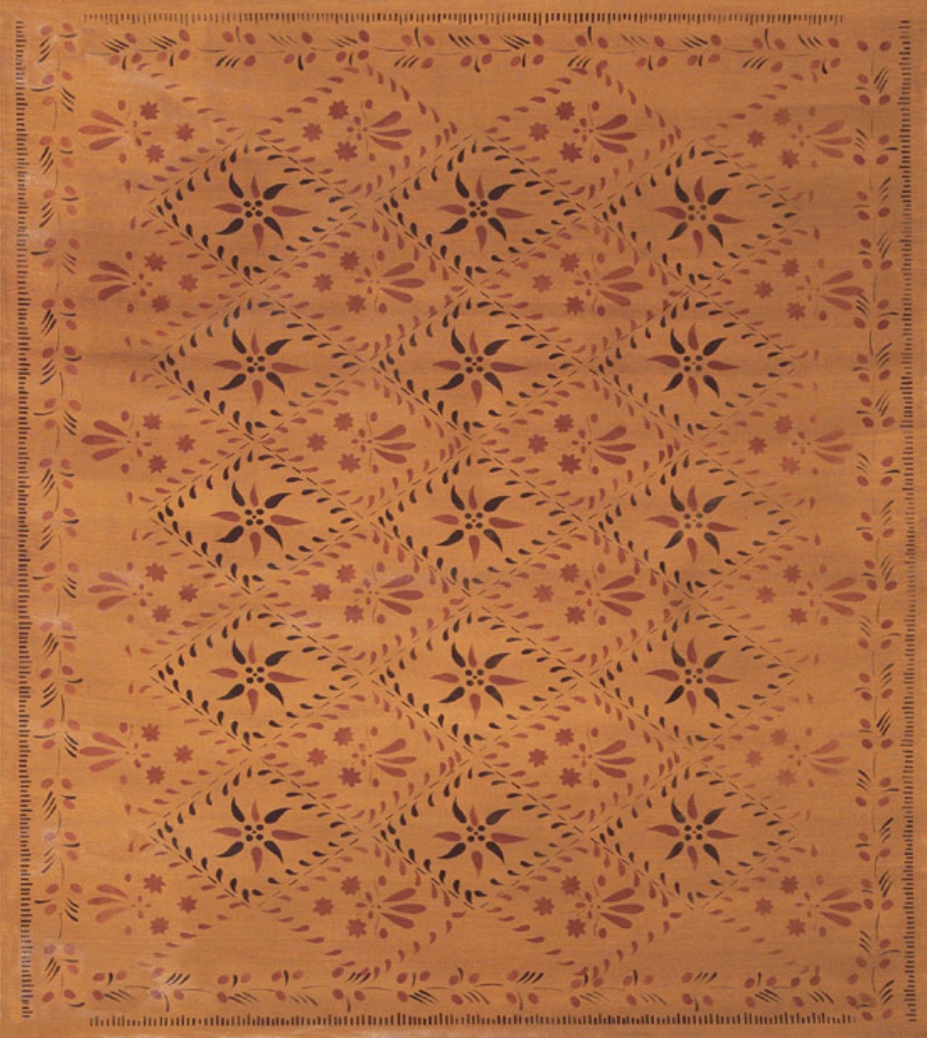 """Nana's Farmhouse Wayside Inn Floorcloth 52"""" x 60"""""""