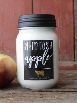 Milkhouse Candles McIntosh Apple 13oz Farmhouse Jar Candle