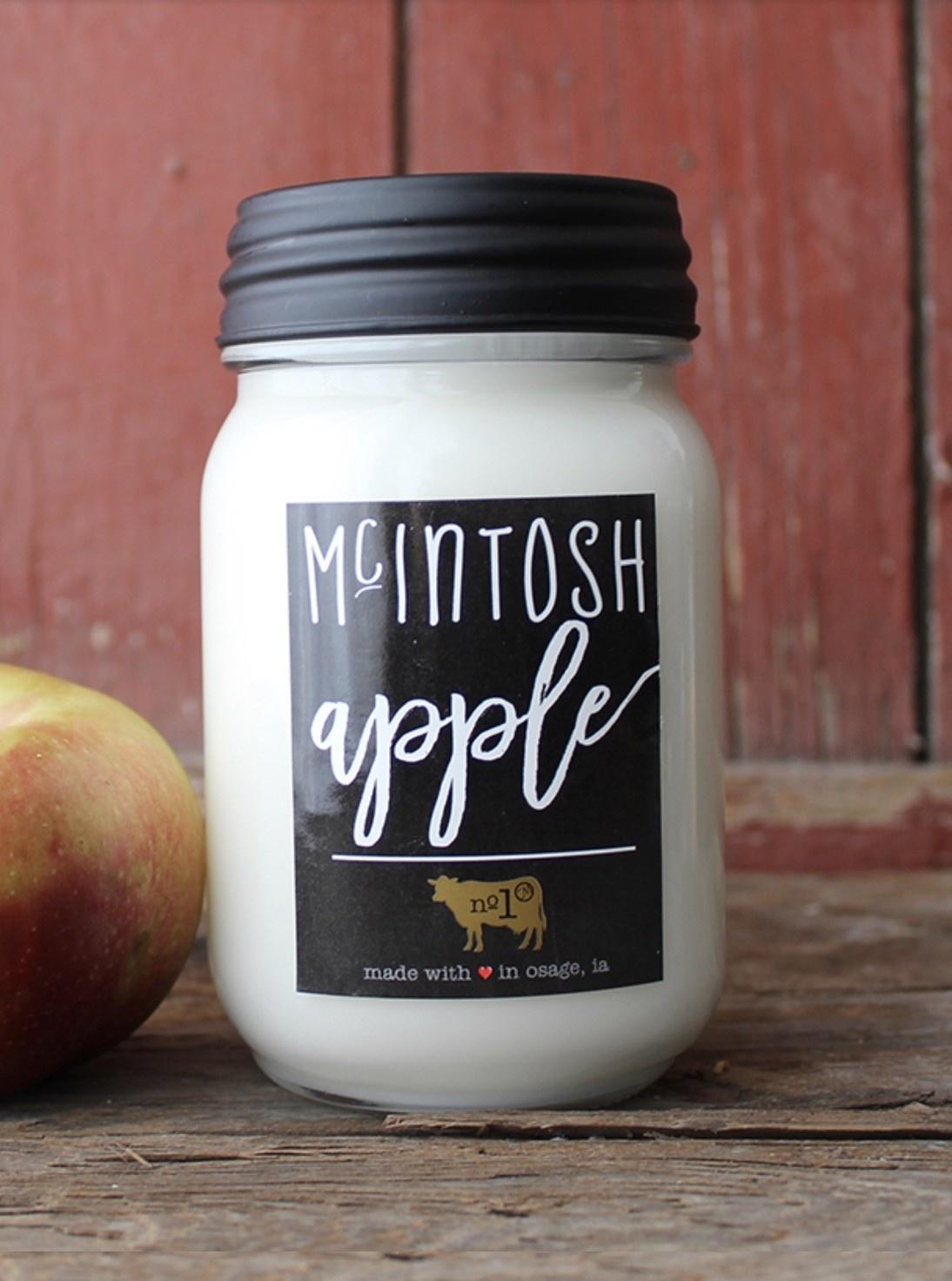 Milkhouse Candles Milkhouse Candle McIntosh Apple 13oz Farmhouse Jar