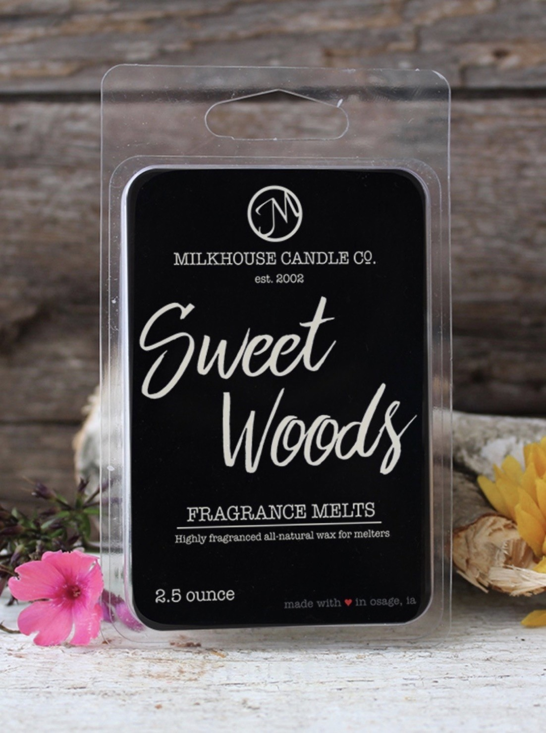Milkhouse Candles Milkhouse Melts Sweet Woods 2.5oz