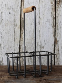 Milkhouse Candles Milkhouse Metal Milk Bottle Candle Holder