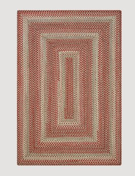 Homespice Decor Terracotta Ultra Durable Braided Rug