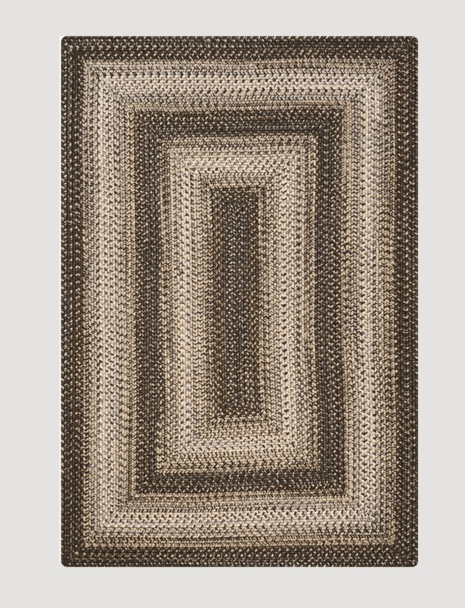 Homespice Decor Wildwood Ultra Durable Braided Rug