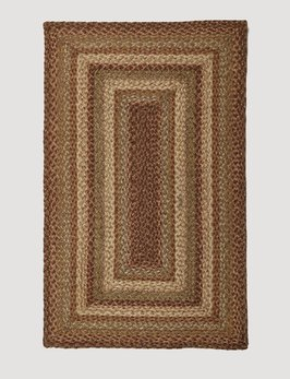 Homespice Decor Harvest Jute Braided Rug