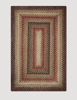 Homespice Decor Gingerbread Jute Braided Rug