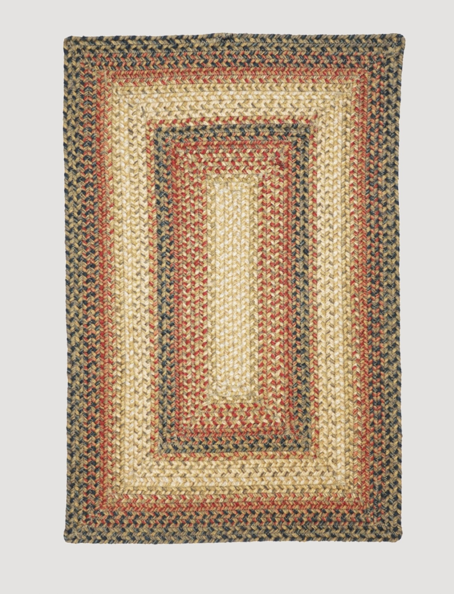 Homespice Decor Russett Jute Braided Rug