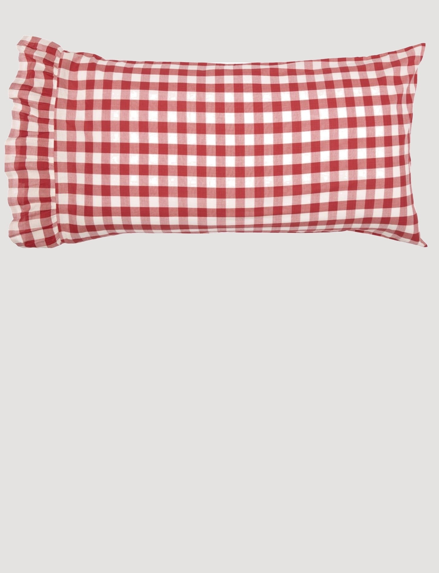 VHC Brands Annie Buffalo Red Check Pillow Cases Set of 2