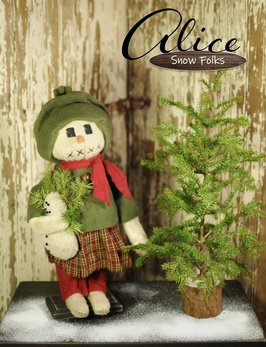 Nana's Farmhouse Alice Snow Girl