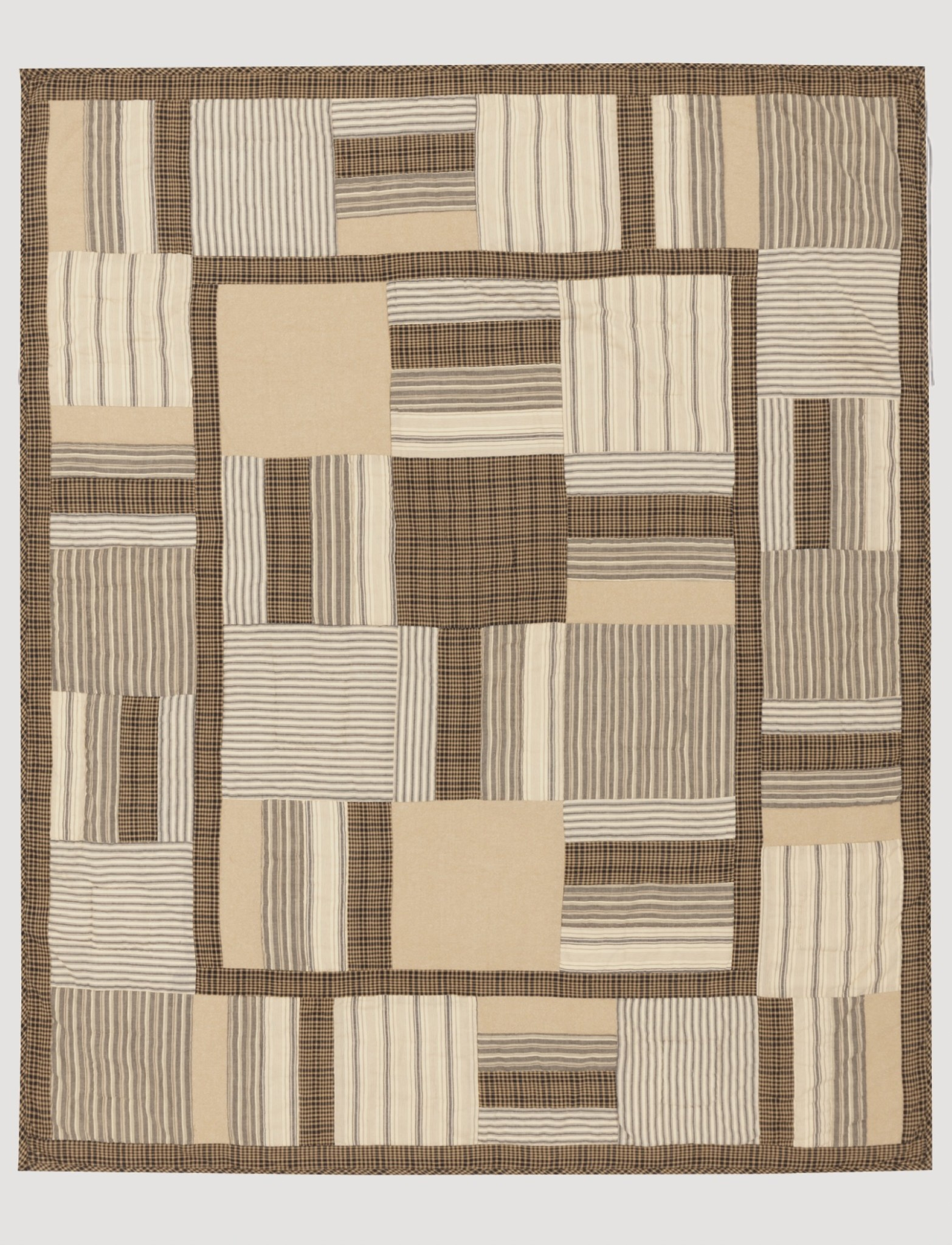 """Nana's Farmhouse Sawyer Mill Home Quilted Throw 60"""" x 50"""""""