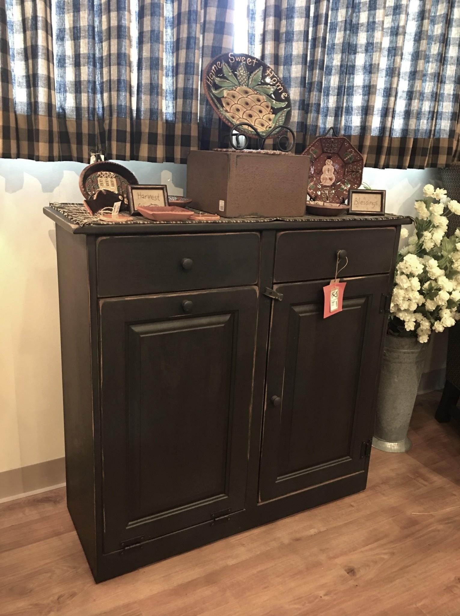 Stupendous Coffee Bar Cabinet Country Primitive Furniture Nanas Farmhouse Home Interior And Landscaping Transignezvosmurscom