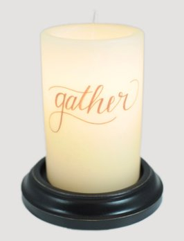 C R Designs Gather Candle Sleeve