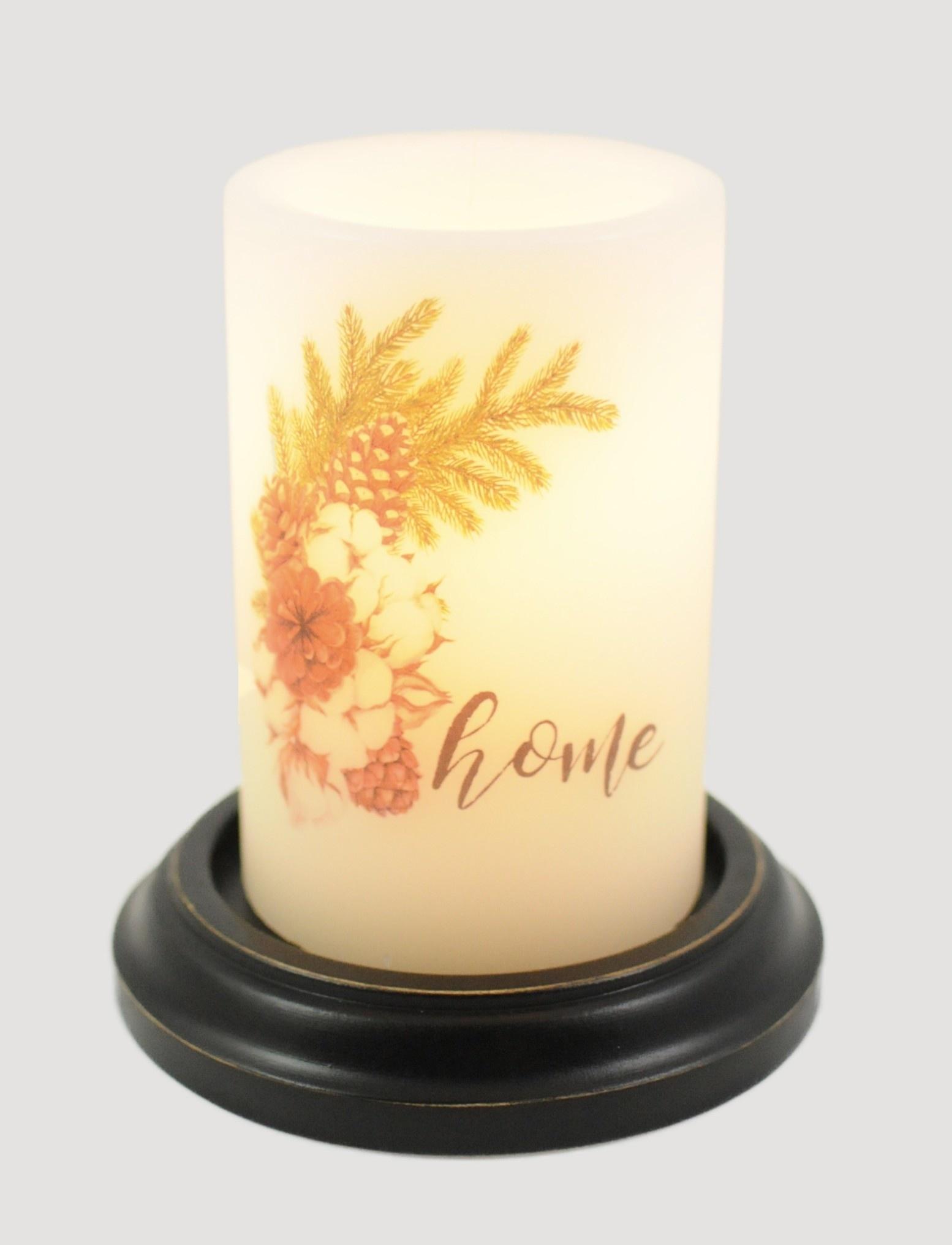 C R Designs Cotton Home Winter Vanilla Candle Sleeve