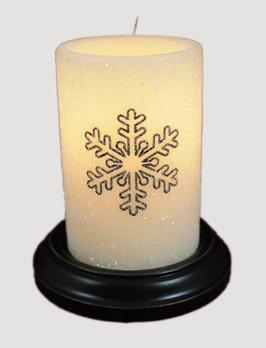 C R Designs Gumdrop Snowflake Candle Sleeve