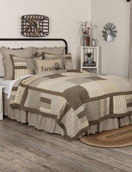 Nana's Farmhouse Sawyer Mill Home King Quilt Set